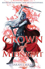 Crown of Midnight UK af Sarah J Maas