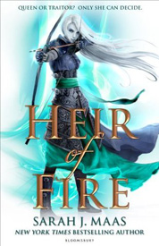 Heir of fire UK af Sarah J Maas